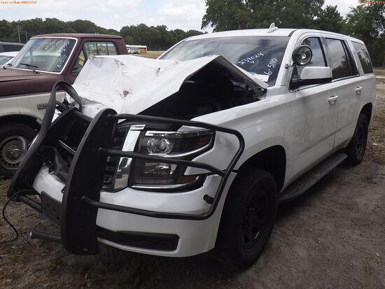 6-05110 (Cars-SUV 4D)  Seller: Gov-Hillsborough County Sheriffs 2020 CHEV TAHOE