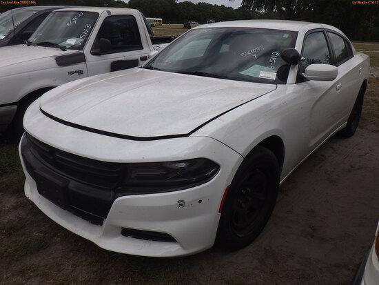 6-05112 (Cars-Sedan 4D)  Seller: Gov-Hillsborough County Sheriffs 2017 DODG CHAR