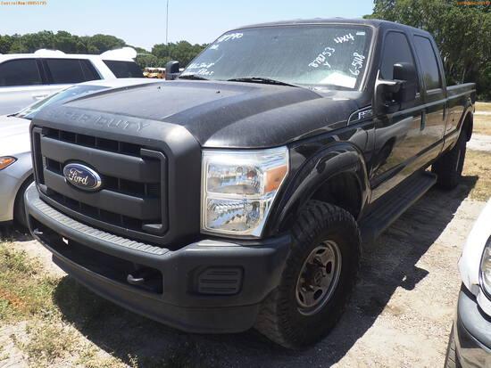 6-05118 (Trucks-Pickup 4D)  Seller: Gov-Hillsborough County Sheriffs 2016 FORD F