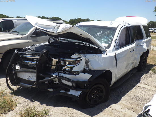 6-05121 (Cars-SUV 4D)  Seller: Gov-Pinellas County Sheriffs Ofc 2018 CHEV TAHOE