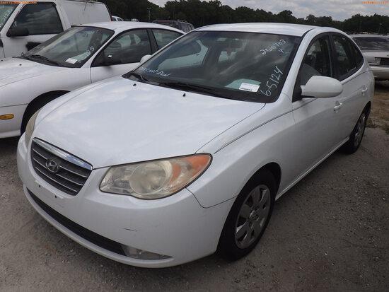 6-05124 (Cars-Sedan 4D)  Seller:Private/Dealer 2007 HYUN ELANTRA