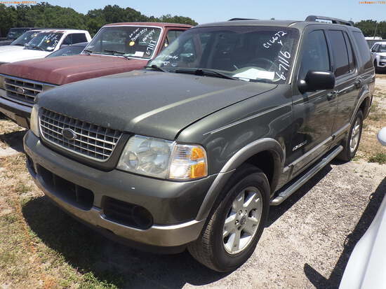 6-07116 (Cars-SUV 4D)  Seller:Private/Dealer 2004 FORD EXPLORER