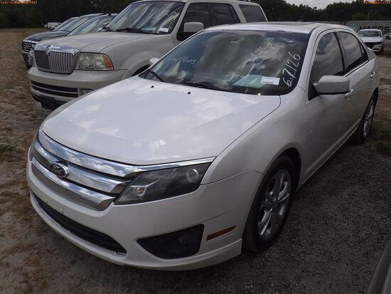 6-07126 (Cars-Sedan 4D)  Seller:Private/Dealer 2012 FORD FUSION