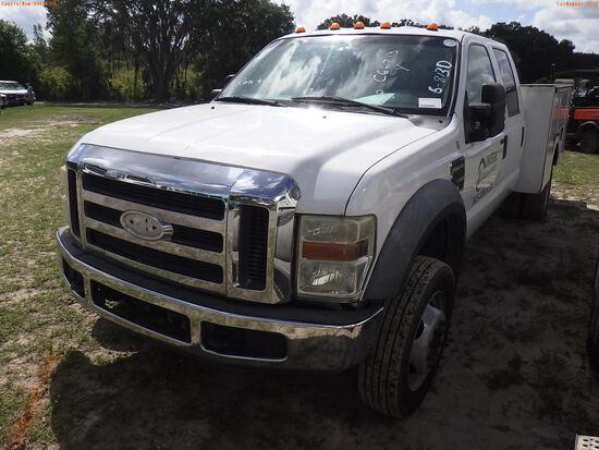 6-08130 (Trucks-Utility 4D)  Seller:Private/Dealer 2008 FORD F550
