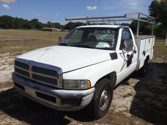 6-08214 (Trucks-Utility 2D)  Seller: Gov-Hillsborough County School 1999 DODG RA