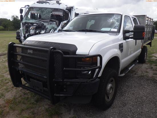 6-09118 (Trucks-Pickup 2D)  Seller: Gov-Hillsborough County B.O.C.C. 2008 FORD F