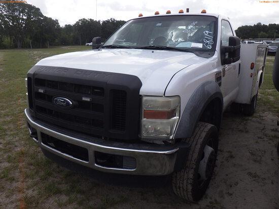 6-08119 (Trucks-Utility 2D)  Seller:Private/Dealer 2008 FORD F550