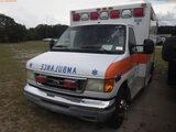 6-08118 (Trucks-Ambulance)  Seller:Private/Dealer 2003 FORD E350