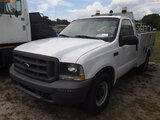 6-08217 (Trucks-Pickup 2D)  Seller: Gov-Hillsborough County B.O.C.C. 2004 FORD F