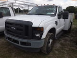 6-08220 (Trucks-Utility 2D)  Seller: Gov-Pinellas County BOCC 2009 FORD F350SD