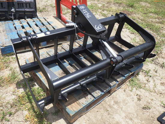 8-01136 (Equip.-Implement misc.)  Seller:Private/Dealer 60 INCH QUICK CONNECT GR