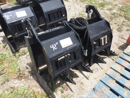 8-01140 (Equip.-Implement misc.)  Seller:Private/Dealer 42 INCH QUICK CONNECT GR