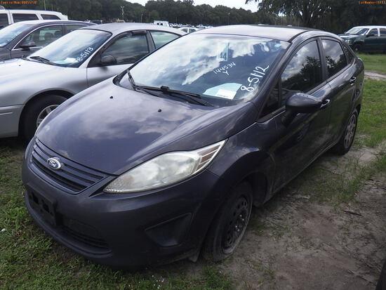 8-05112 (Cars-Sedan 4D)  Seller: Florida State B.P.R. 2013 FORD FIESTA