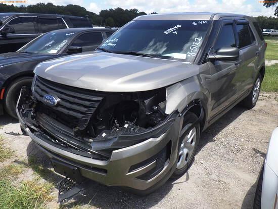 8-05122 (Cars-SUV 4D)  Seller: Florida State F.H.P. 2017 FORD EXPLORER