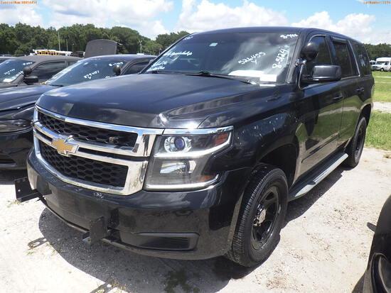 8-05124 (Trucks-Pickup 4D)  Seller: Florida State C.V.E. F.H.P. 2015 CHEV TAHOE