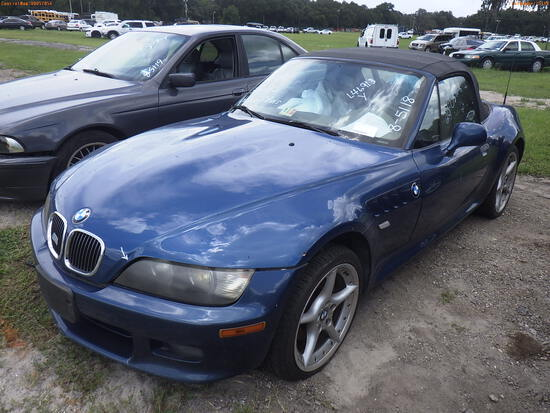 8-05118 (Cars-Convertible)  Seller: Florida State L.E.T.F. 2001 BMW Z3