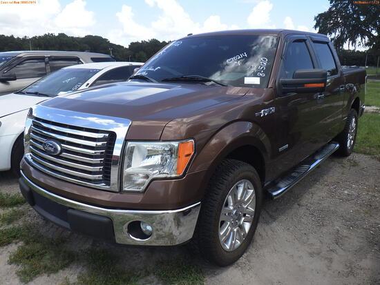 8-05120 (Trucks-Pickup 4D)  Seller: Gov-Orange County Sheriffs Office 2011 FORD