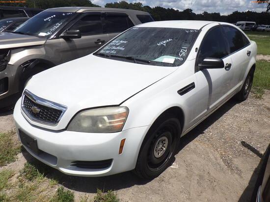 8-05121 (Cars-Sedan 4D)  Seller: Gov-City of Bradenton 2012 CHEV CAPRICE