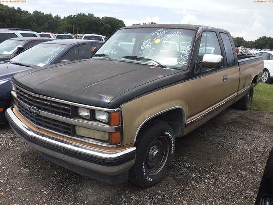 8-05133 (Trucks-Pickup 2D)  Seller:Private/Dealer 1988 CHEV 1500