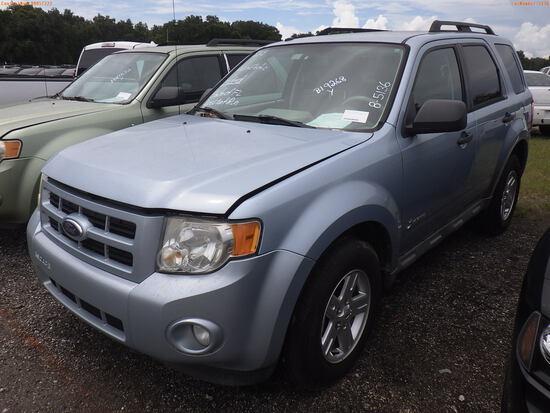 8-05136 (Cars-SUV 4D)  Seller: Florida State D.E.P. 2009 FORD ESCAPE