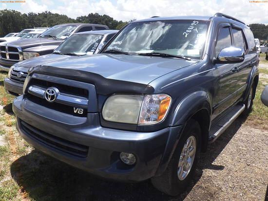 8-07119 (Cars-SUV 4D)  Seller:Private/Dealer 2007 TOYT SEQUOIA