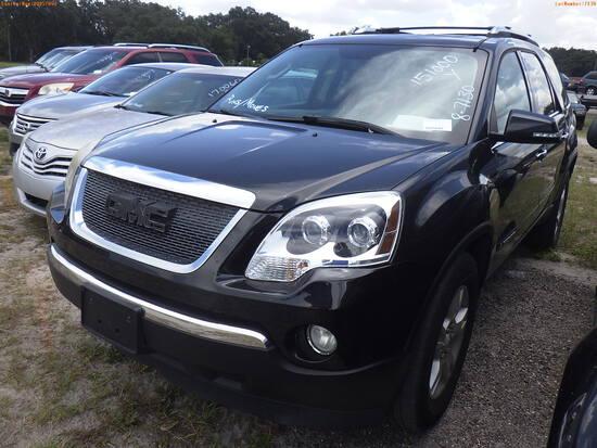 8-07130 (Cars-SUV 4D)  Seller:Private/Dealer 2008 GMC ACADIA