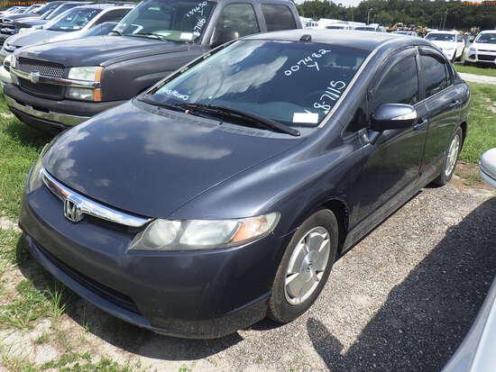 8-07115 (Cars-Sedan 4D)  Seller:Private/Dealer 2006 HOND CIVIC