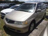 8-07113 (Cars-Van 4D)  Seller:Private/Dealer 2002 HOND ODYSSEY