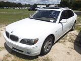 8-07214 (Cars-Sedan 4D)  Seller:Private/Dealer 2007 BMW 750LI