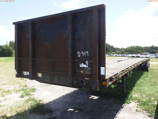 8-09119 (Trailers-Semi flatbed)  Seller:Private/Dealer 2006 GDAN SEMI