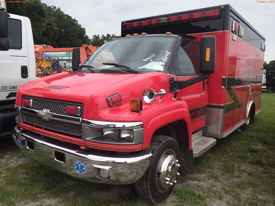 8-08248 (Trucks-Ambulance)  Seller: Gov-City Of Largo 2009 CHEV C4500