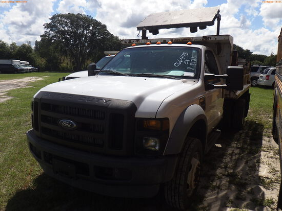8-08125 (Trucks-Dump)  Seller:Private/Dealer 2008 FORD F450