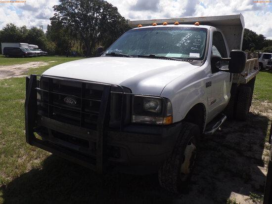 8-08126 (Trucks-Dump)  Seller:Private/Dealer 2004 FORD F450