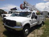 8-08112 (Trucks-Aerial lift)  Seller:Private/Dealer 2004 FORD F550