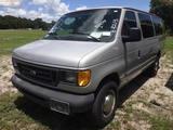 8-08213 (Cars-Van 3D)  Seller: Florida State D.O.E. 2003 FORD E350
