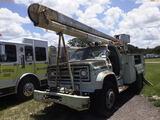 8-09121 (Trucks-Aerial lift)  Seller: Florida State D.J.J. 1987 GMC 7000