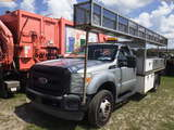 8-08242 (Trucks-Flatbed)  Seller: Gov-Pinellas County BOCC 2011 FORD F550