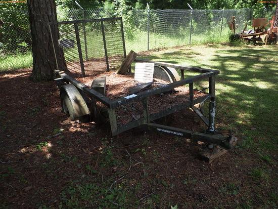 8-16112 (Trailers-Utility flatbed)  Seller: Florida State F.W.C. 2005 SEMC SINGL