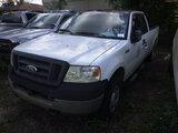 8-15114 (Trucks-Pickup 2D)  Seller: Florida State F.W.C. 2005 FORD F150