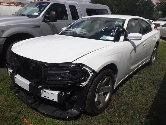 10-05111 (Cars-Sedan 4D)  Seller: Gov-Hillsborough County Sheriffs 2019 DODG CHA