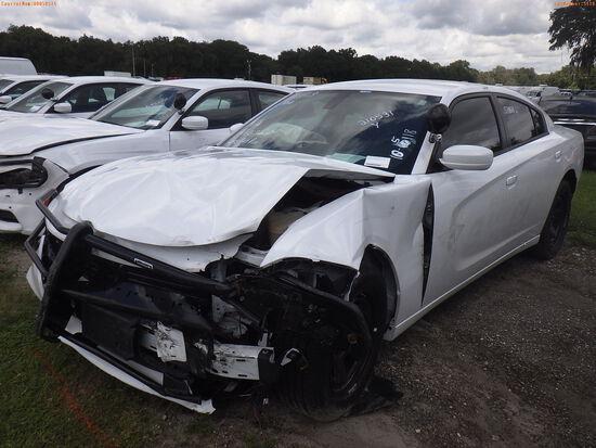 10-05118 (Cars-Sedan 4D)  Seller: Gov-Hillsborough County Sheriffs 2018 DODG CHA