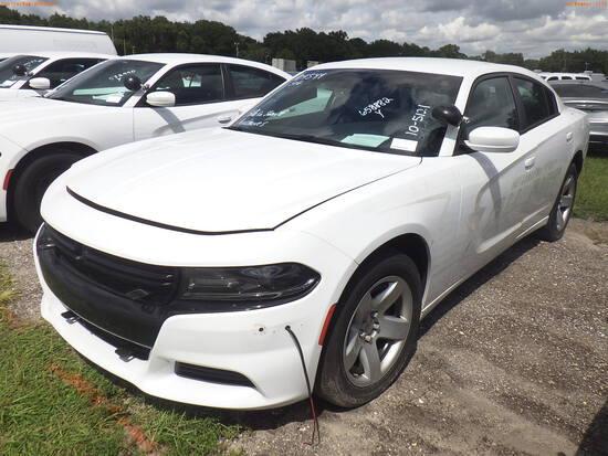 10-05121 (Cars-Sedan 4D)  Seller: Gov-Hillsborough County Sheriffs 2019 DODG CHA