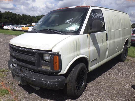 10-05126 (Trucks-Van Cargo)  Seller: Gov-Sumter County Sheriffs Office 2000 CHEV