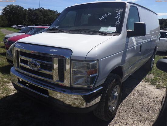 10-07134 (Trucks-Van Cargo)  Seller:Private/Dealer 2011 FORD E250
