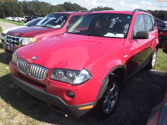 10-07130 (Cars-SUV 4D)  Seller:Private/Dealer 2007 BMW X3