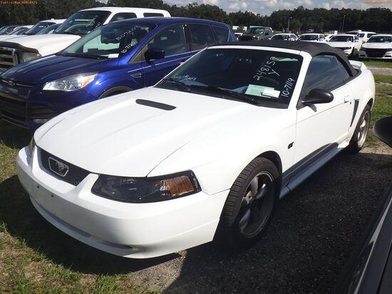 10-07119 (Cars-Sedan 2D)  Seller:Private/Dealer 2000 FORD MUSTANG