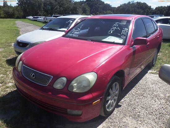 10-07136 (Cars-Sedan 4D)  Seller:Private/Dealer 2001 LEXS GS