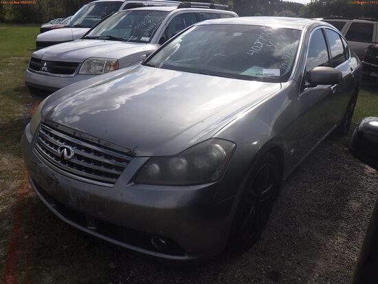 10-07143 (Cars-Sedan 4D)  Seller:Private/Dealer 2007 INFI M45