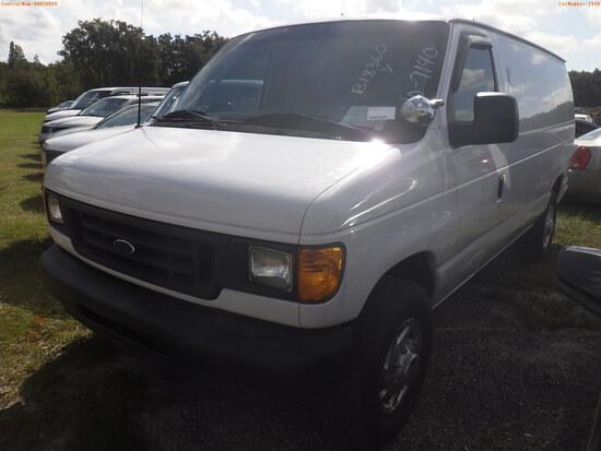 10-07140 (Trucks-Van Cargo)  Seller:Private/Dealer 2005 FORD E250