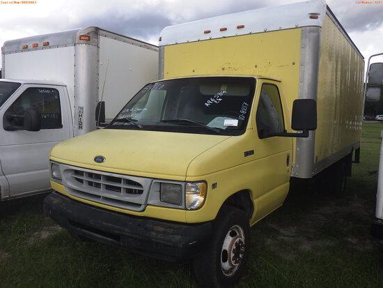10-08217 (Trucks-Box)  Seller: Gov-Hillsborough County Sheriffs 1998 FORD E350
